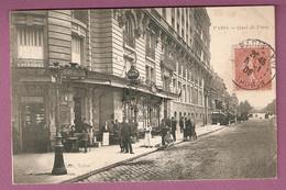 Cpa Paris Quai De Passy - Maison Anglade, Tabac - éditeur ??glade  Tabac - Distretto: 16