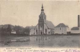 Basse-Wavre - L'Eglise Et La Cure - 1902 - Wavre