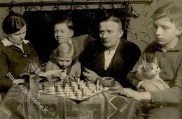SCHACH - Foto-Ak Dresden 1932 Mit SCHACHSPIELER I-II - Schach