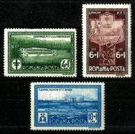 Rumanía Nº 449/51 Charnela. Cat.25€ - 1948-.... Repúblicas