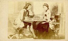 Schach CDV Circa 1880 I-II - Schach