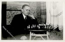 Schach Foto AK I-II# - Schach