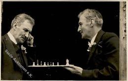Schach Foto AK I-II (keine Ak-Einteilung) - Schach