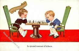 Schach Künstlerkarte I-II (Stauchung) - Schach