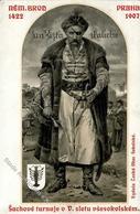 Schach Prag  Tschechien Lebendschach 1907 I-II - Schach