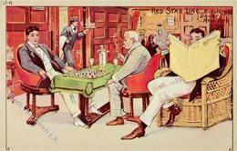 Schach Red Star Line Antwerpen 1907 I-II - Schach