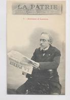 Journal  LA PATRIE - Journaux Et Lecteurs -  Publicité - Presse - A. Bergeret - Werbepostkarten