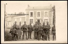 TOP LAVAL MORENCY CANTON ROCROI - SOLDATS ALLEMANDS OCCUPENT LA MAISON DU 2 ROUTE DE CHILLY EN OCTOBRE 1915 - Otros Municipios