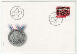 Suisse // Schweiz // Switzerland //  FDC 2013 // Hockey Sur Glace, équipe Nationale Oblitérée 1er Jour No.1470 - FDC