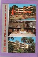 06 ANTIBES JUAN LES PINS Les EUCALYPTUS Vieux Chemin De Vallauris Appartements Meublés Parc Piscine Restaurant Garage - Antibes