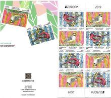Azerbaijan  2019 . EUROPA, National Birds. Booklet - Azerbaijan
