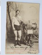 Athlète - Lutteur - Cherpillod De Sainte Croix - Suisse - Wrestling - Autres
