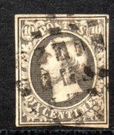 Luxembourg N° 1 Oblitéré Dés De Frisange, Voir Certificat - 1852 Guillaume III