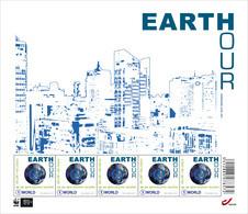 Earth Hour 2014 Postfris - 4405** - Hojas