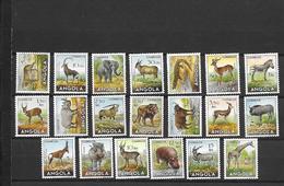 ANGOLA 357/376 ANIMALS MLH - Angola