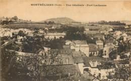 25- MONTBELIARD - Vue Generale Et Fort Lachause - Montbéliard