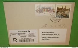 BUND BRD R- Brief Registered Cover 04680 Colditz (35690) - [7] Repubblica Federale