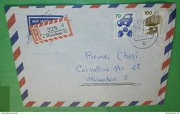 BUND BRD R- Brief Registered Cover 8 München 32 (35725) - BRD