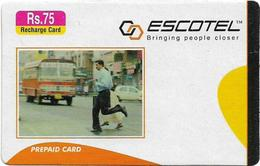 India - Escotel - On Road, GSM Refill 75₹, Exp.07.10.2006, Used - India