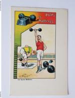 Les Sports Modernes - Poids Et Haltères - Publicité Biscuits Germain - Weightlifting - France