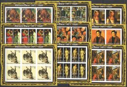 KV254 IMPERFORATE 2002 GUINEA ART PAINTINGS ALBRECHT DURER !!! 6SET(9KB) MNH - Arts