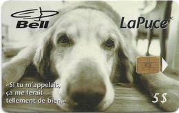 Canada - Bell (Chip) - Melancholic Dog, 5$, 03.1997, 35.000ex, Used - Canada