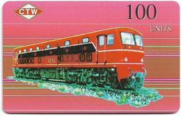 Korea North (NEAT & T) Trains, Dieseltrain 4101 - 1LOXIYC - 100Units, 5.500ex, Mint (check Photos!) - Corée Du Nord