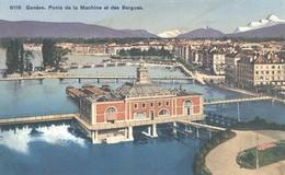 8118 Genève Pont De La Machine  Et Des Bergues - GE Genève