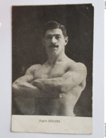 Eugène Gouleau - Haltérophile - Lutteur - Weightlifting - Francia