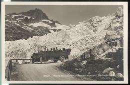 CPA Suisse - Route De La Furka - Furkastrasse Und Rhonegletschen - Non Circulée - Suisse