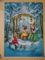KOV 8-176 - NEW YEAR, Bonne Annee, Children, Enfant,  ANGELS, ANGE, ANGEL - Nouvel An