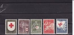 1953 Rode Kruis No 607-11 / Sc B254-8 / Y&T 595-9 / Mi 615-9 MH / * - Ungebraucht