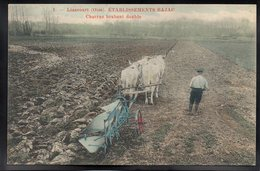 LIANCOURT 60 - Etablissements Bajac - Charrue Brabant Double - #B672 - Liancourt