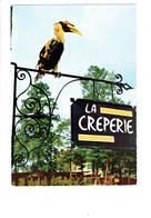 Cpm - 02 - Parc De Coucy Les Eppes - Parrainé Par Jean Richard - Oiseau COLAS Cocasse CALAO  Enseigne LA CREPERIE - Altri Comuni