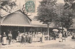 CPA - LA GARENNE COLOMBES  (92) - Le Marché - La Garenne Colombes