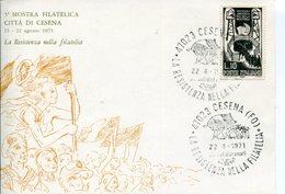 """Italia (1971) - 5° Mostra Filatelica """"Città Di Cesena"""" - Esposizioni Filateliche"""