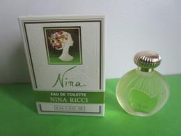 NINA RICCI - NINA - EDT - 6 ML - Miniature - Miniatures Femmes (avec Boite)