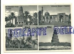 Iraq. Irak. Quatre Vues De Bagdad. Orient Mercur-Verlag Cologne-Deutz - Iraq