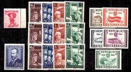 Autriche YT N° 750A, N° 794/797 (3), N° 840 Et N° 845/849 Neufs ** MNH. TB. A Saisir! - 1945-.... 2a Repubblica