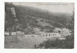 Yvoir Le Tunnel Et Le Viaduc Carte Postale Ancienne - Yvoir