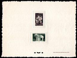 Epreuve Collective YT N° 585-586 - Cote: 375 € - Epreuves De Luxe
