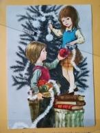KOV 8-176 - NEW YEAR, Bonne Annee, Children, Enfant, - Nouvel An