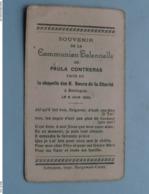 Communion Solennelle De Paula CONTRERAS à BEIRLEGEM Le 6 Juin 1932 ( Voir / Zie Foto's ) ! - Communie