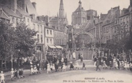 GUINGAMP - Fête De Saint Loup Dérobée Place Du Centre (lot Pat 93) - Guingamp