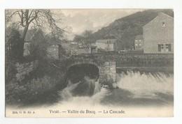 Yvoir Vallée Du Bocq La Cascade Carte Postale Ancienne - Yvoir