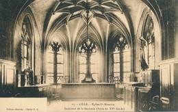 Lille PD 15 Eglise Saint Maurice Interieur De La Sacristie Peu Commun Etat Neuf - Lille