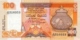 BILLET SRI LANKA 100 RUPIE - Sri Lanka