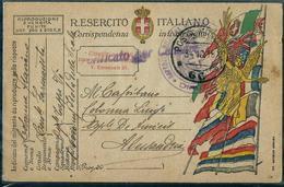 FRANCHIGIA PM 66 OSPle MILITARE Di TAPPA VO' (ISOLA Della SCALA) X ALESSANDRIA - War 1914-18