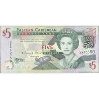 TWN - EAST CARIBBEAN STATES 47a - 5 Dollars 2008 Prefix CE UNC - Caraibi Orientale