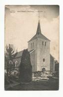 Wastines Malèves L'ancienne Eglise Carte Postale Ancienne Wastinnes - Perwez